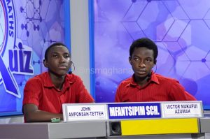 Mfantsipim School at National Science & Maths Quiz 2016