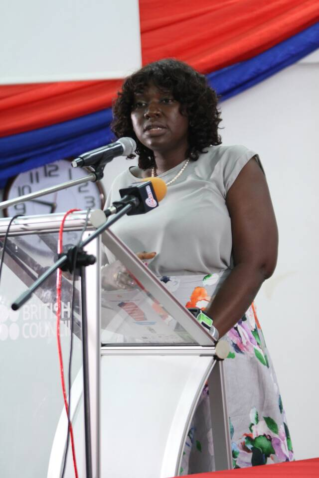 Ms. Adelaide Asante, Ag. Director of Science, Technology and Innovation