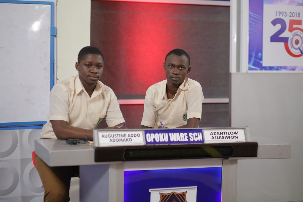 Contestants of Opoku Ware Shcool