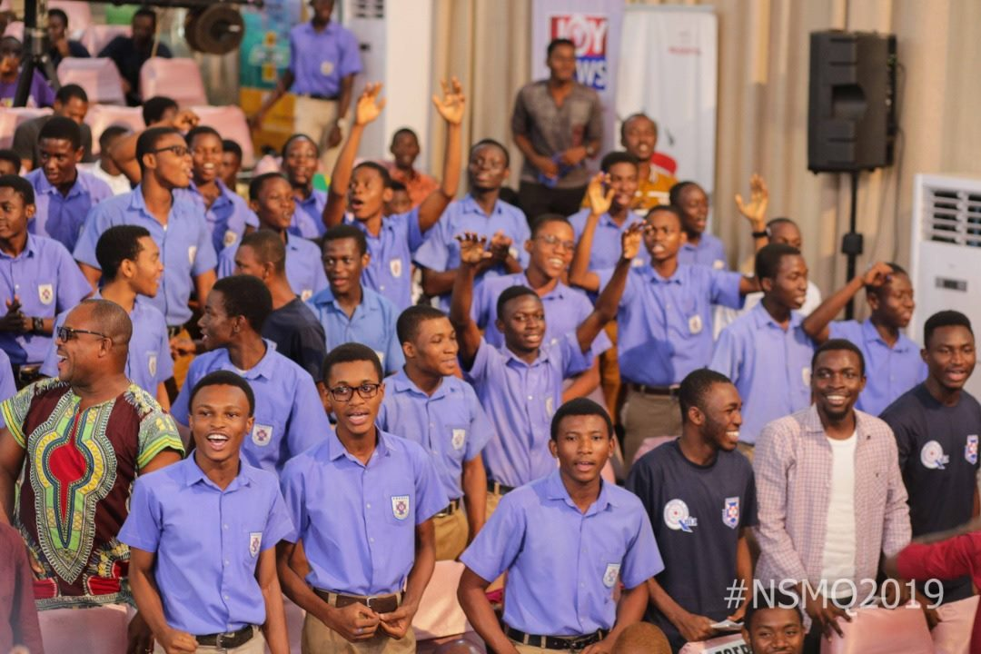 PRESEC, Legon survives scare to win one-eighth stage contest - NSMQ