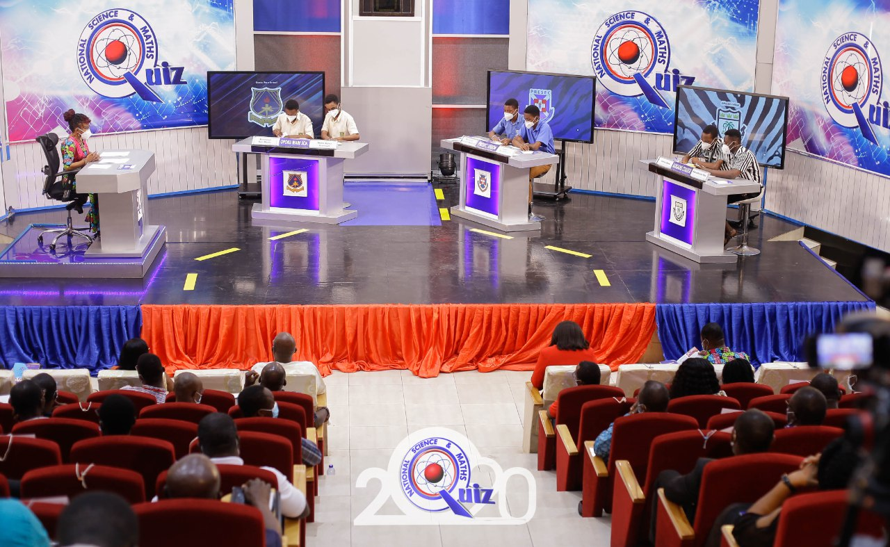 Legon PRESEC Boys silenced ADISCO,OWASS to lift 2020 NSMQ Trophy 1