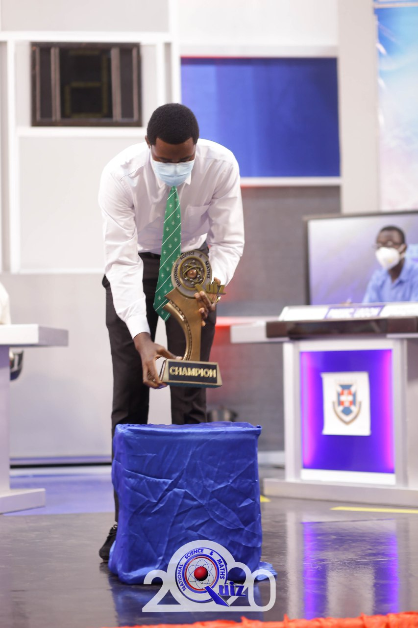 Legon PRESEC Boys silenced ADISCO,OWASS to lift 2020 NSMQ Trophy 3