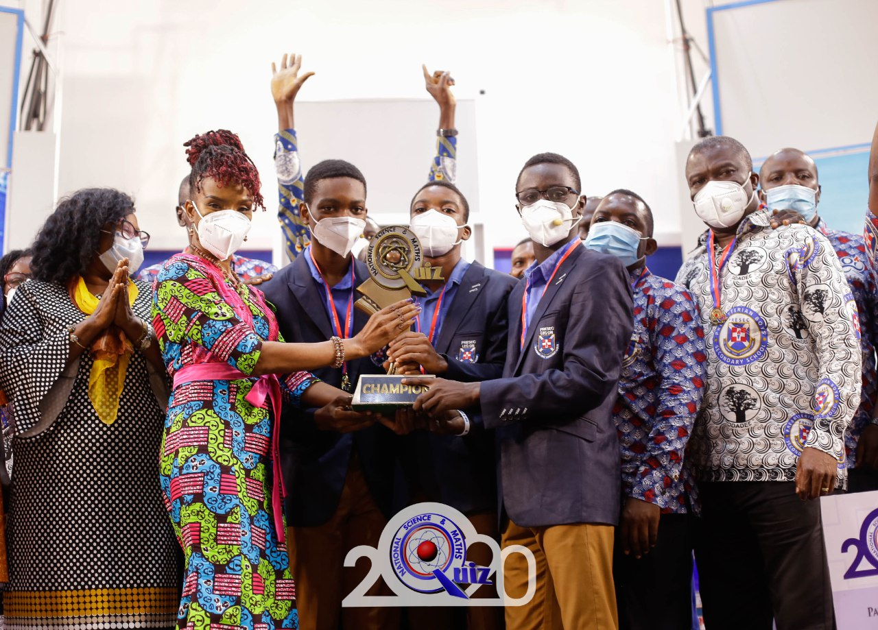 Legon PRESEC Boys silenced ADISCO,OWASS to lift 2020 NSMQ Trophy 4